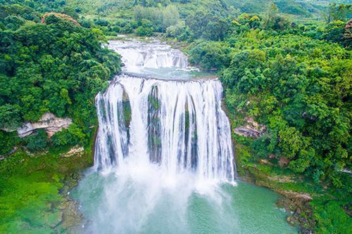 【黄果树1日游】黄果树瀑布、天星桥、陡坡塘经典一日游,全程0自费含景区环保车