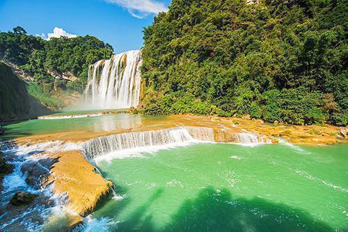 【黄果树1日游】黄果树瀑布、天星桥、陡坡塘经典一日游,含景区环保车