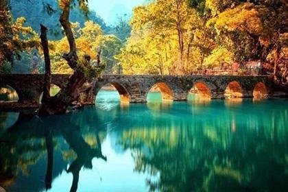 贵州旅游跟团线路,精品3日游,黄果树瀑布、荔波小七孔、西江千户苗寨3天2晚品质游
