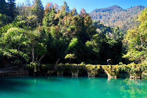 荔波大小七孔+茂兰自然保护区纯玩二日游 贵州贵阳旅游2天1晚跟团游