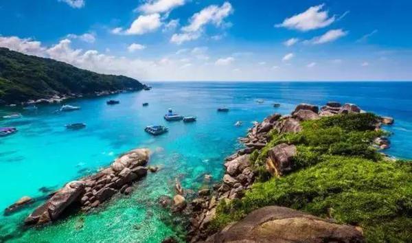 泰国游 寻梦计划普吉岛6天4晚游 梦幻果冻斯米兰+快艇海上乐园+独家天堂级浮潜地