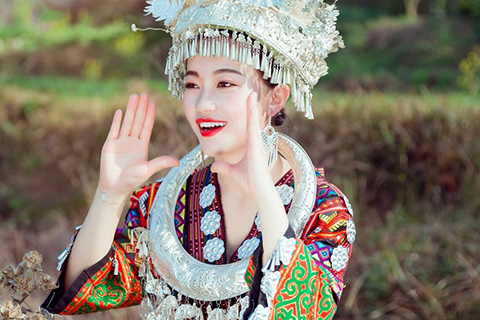 到贵州旅游-跟着贵州旅行社去看台江姊妹节