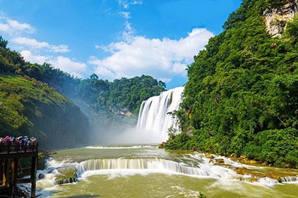 黄果树瀑布纯玩1日游,高品质纯玩,贵州旅游一日游跟团,含车费+导游游+午餐+旅游险